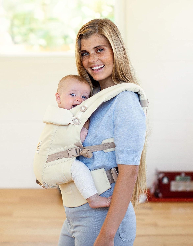 Ergobaby Adapt - Portabebés para recién nacidos, sistema 3 en 1,  ergonómico, color natural: Amazon.es: Bebé