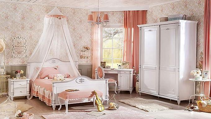 Camera da letto bambini - Composta da: Letto, baldacchino ...