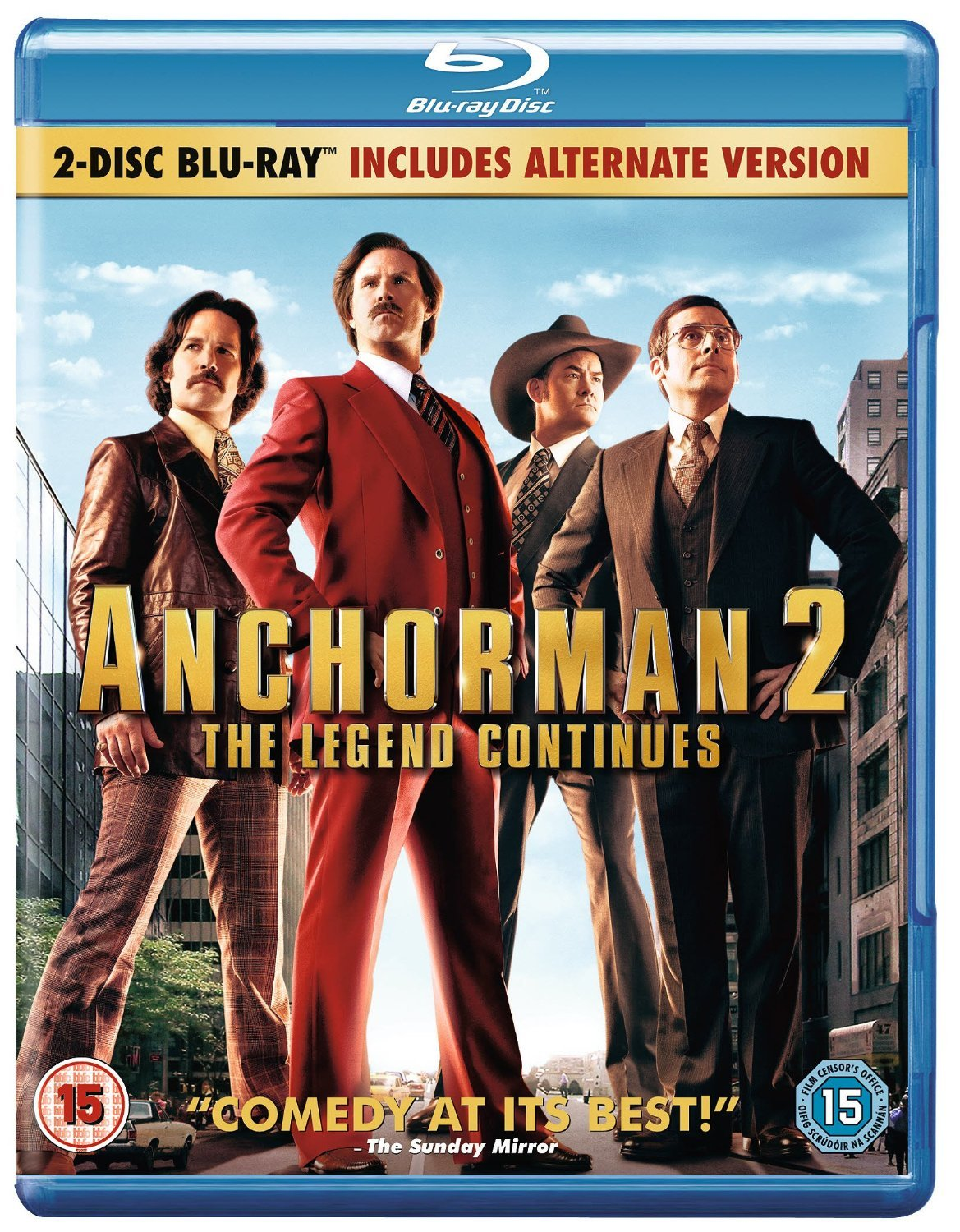 Amazon.com: Anchorman 2: The Legend Continues [Blu-ray] [2013 ...