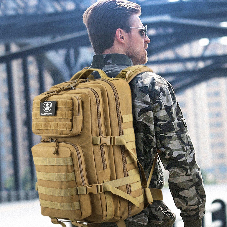 /Mochila para Outdoor Senderismo camping 35L mochila bolsa de Barbarians Molle t/áctica militar BGE Assault/