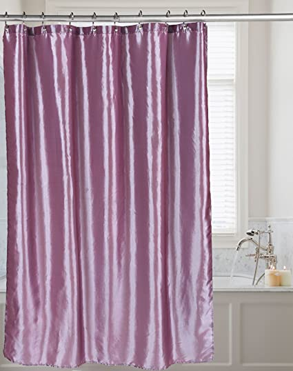 Amazon Carnation Home Fashions Shimmer Faux Silk Shower