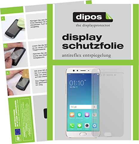 dipos I 2X Protector de Pantalla Mate Compatible con OPPO F3 Plus ...