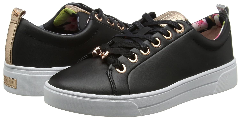 Ted Baker Womens Black Kellei Sneakers-UK 8