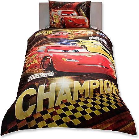 Copripiumino Dimensioni.Cars Champions Singolo Trapunta Copripiumino Singolo Dimensioni