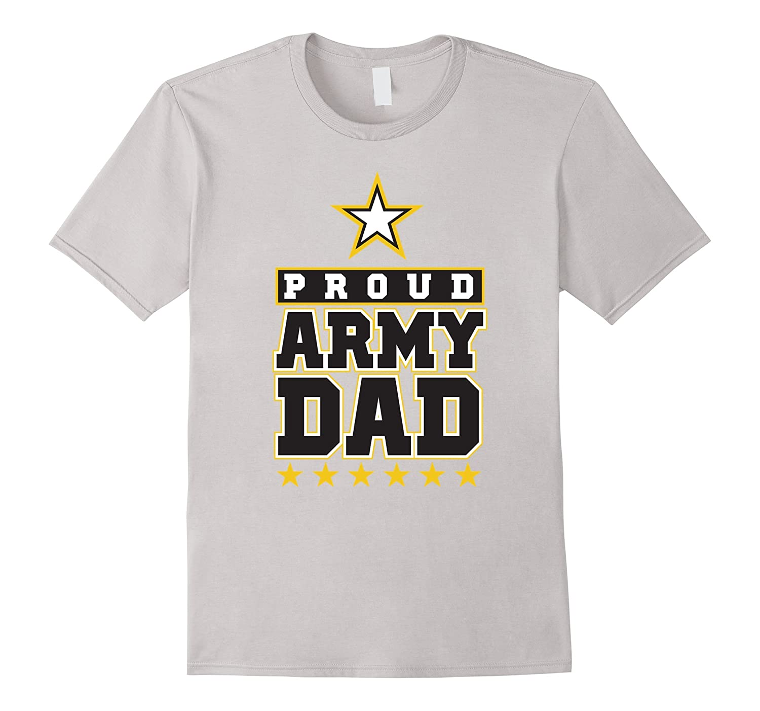 Men's Proud U.S. Army Dad Men's T-Shirt-BN