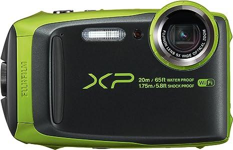 Fujifilm Finepix XP120 - Cámara Digital, Color Verde Lima: Amazon ...