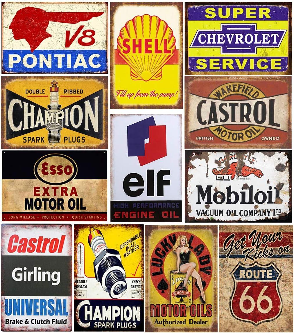 "Valvoline Motor Oil Embossed Rustic Logo 12/"" Metal Tin Sign Garage Vintage New"