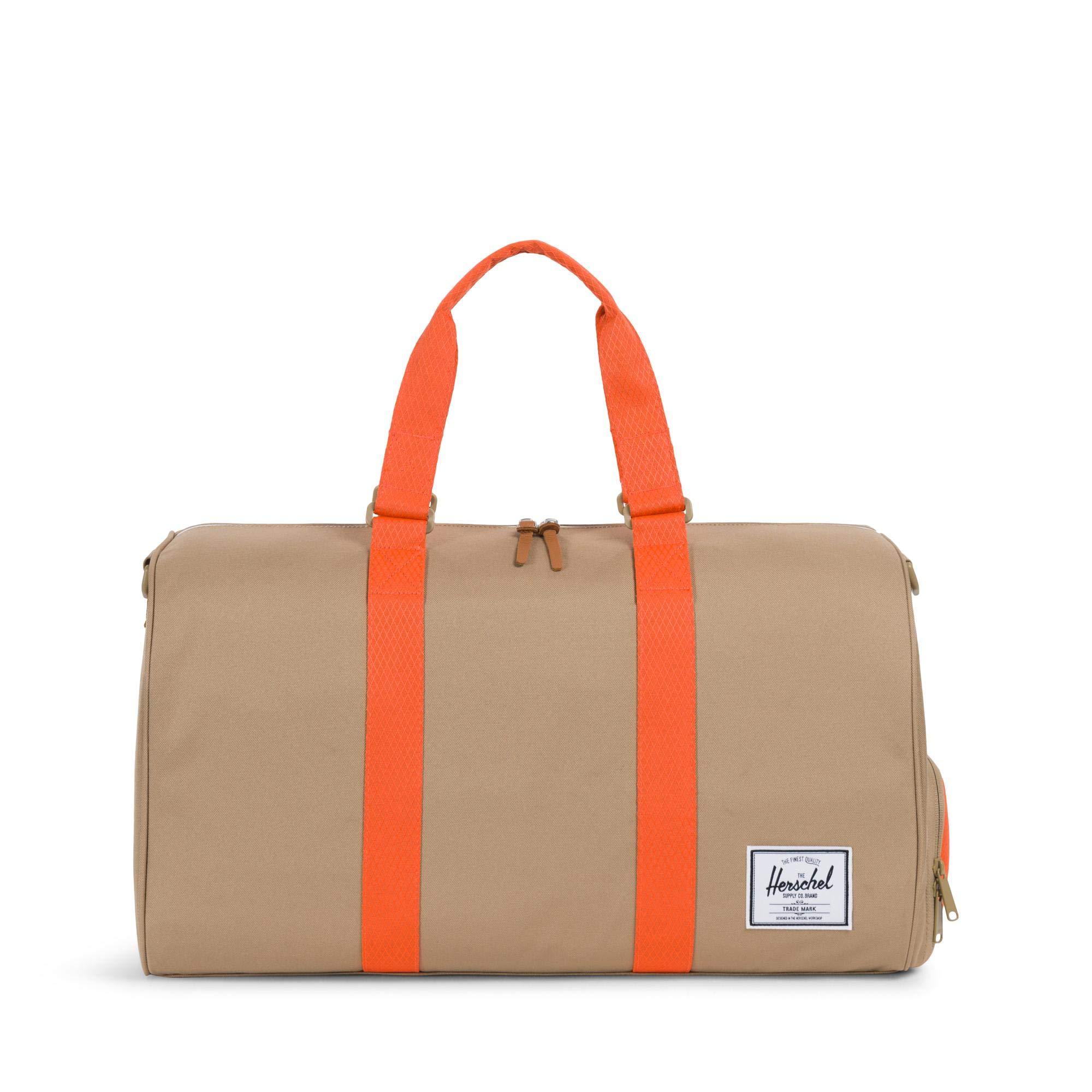 Herschel Novel Duffel Bag Kelp/Vermillion Orange One Size
