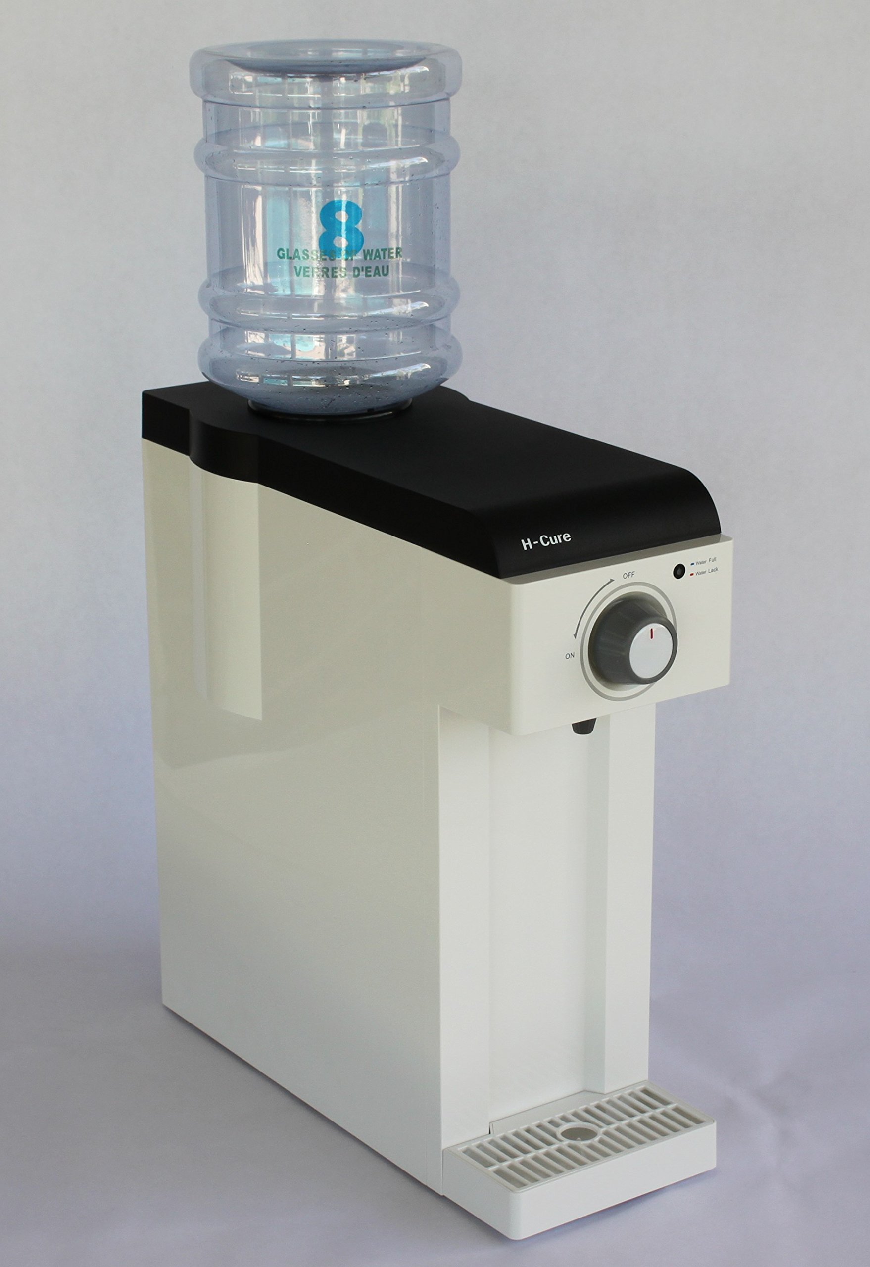 H-Cure Hydrogen Water Generator by Zontos for 1.2 to 1.6 ppm Infused Diatomic Hydrogen (H2) in your Drinking Water using Hydrogen Direct Module Technology