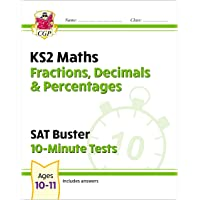 New KS2 Maths SAT Buster 10-Minute Tests - Fractions, Decimals & Percentages (for the 2022 tests)