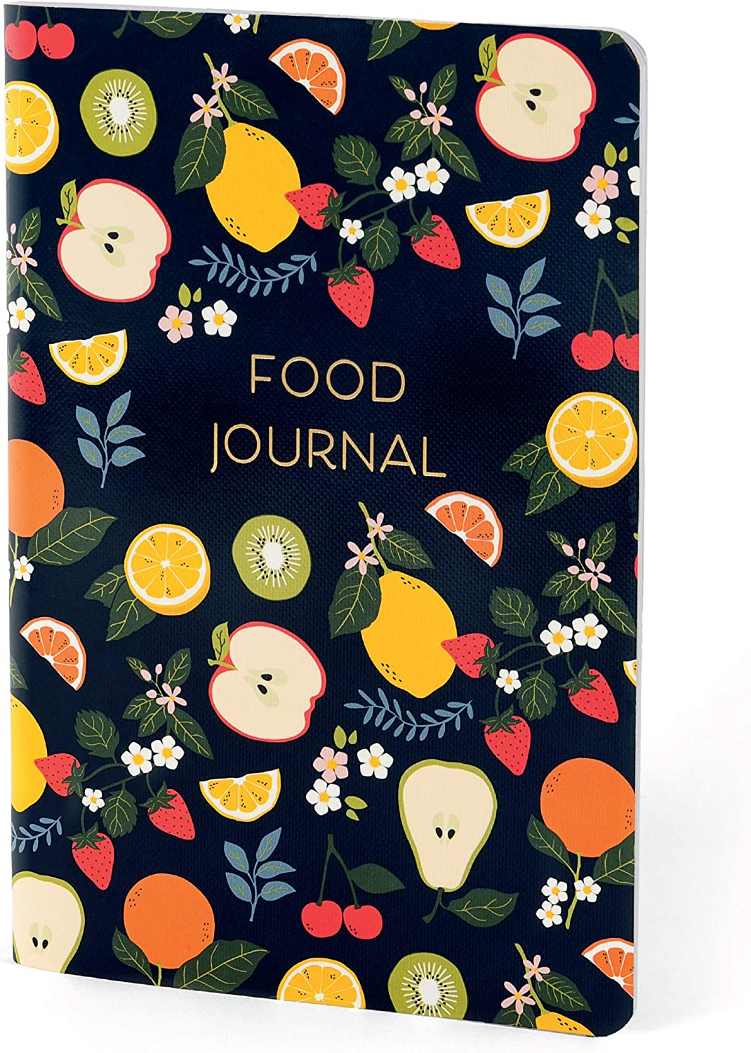 Boxclever Press Food Journal. Daily Planner for a Healthier Lifestyle. Use as a Meal Planner Notebook or Weight Loss Journal. Perfect for Weight Watchers & Other Diet Plans. 8 x 5.5'' (Fruit Medley)