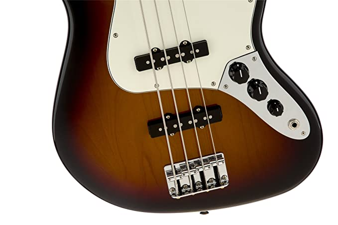 Amazon.com: Fender Standard Jazz Electric Bass Guitar - Maple Fingerboard, Brown Sunburst: Musical Instruments