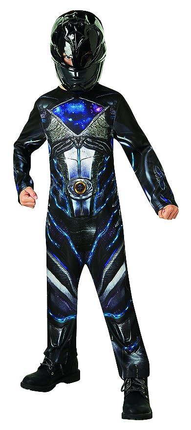 Saban - i-630715s - Disfraz clásico Power Rangers - Negro - Talla ...