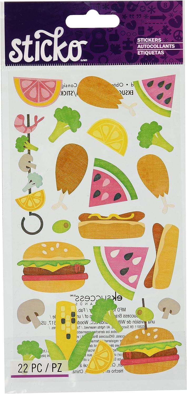 Sticko BBQ Stickers