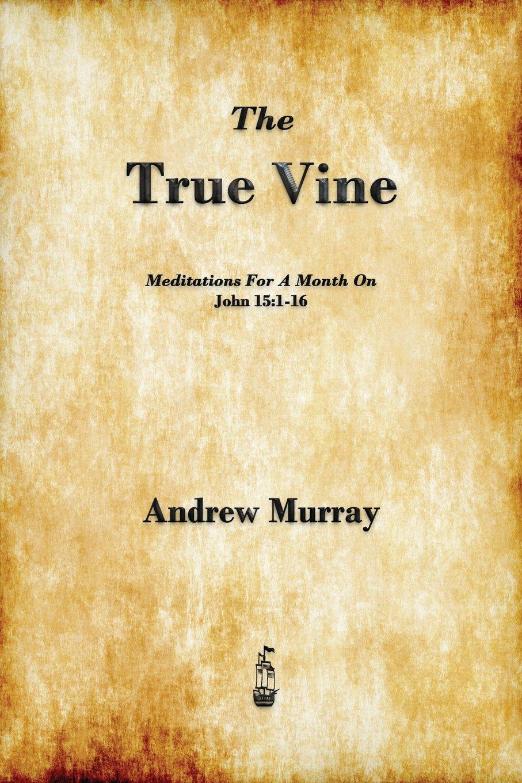 The True Vine: Meditations for a Month on John 15:1-16 pdf