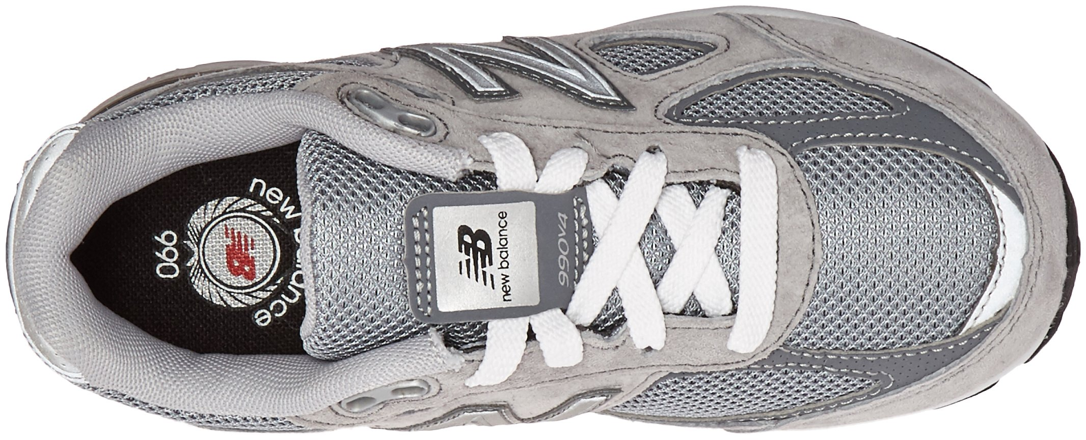 New Balance KJ990V4 Running Shoe (Little Kid/Big Kid), Grey/Grey, 1.5 M US Little Kid by New Balance (Image #8)