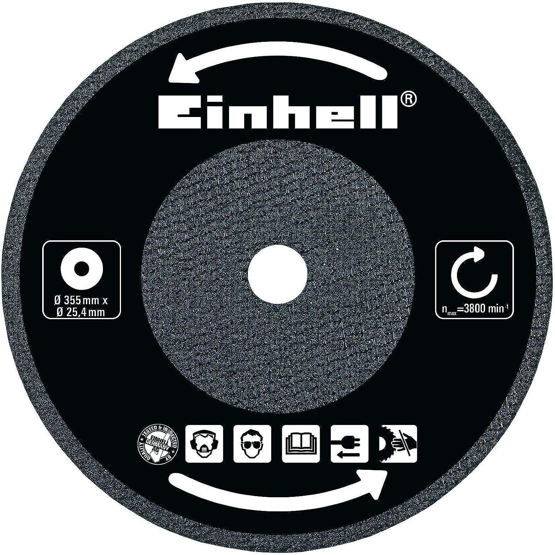 Einhell Disque /à tron/çonner pour tron/çonneuse /à m/étaux compatible avec TC-MC 355 et TH-MC 355, diam/ètre 355 x 25,4 x 3,2 mm, pour max. 4400 min-1