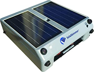 SolaSkimmer 2.0 – Automatic Pool Cleaner That's Solar Powered – Pool Skimmer That Removes Leaves & Debris Before it Sinks – Cordless, Robotic Pool Cleaner for inground Pools & Above Ground Pools