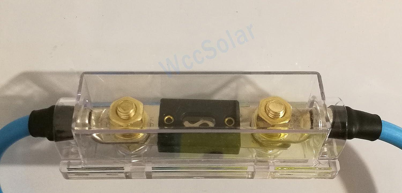 Portafusible Corriente Directa vale para coche Equipo solar Fuse holder DC