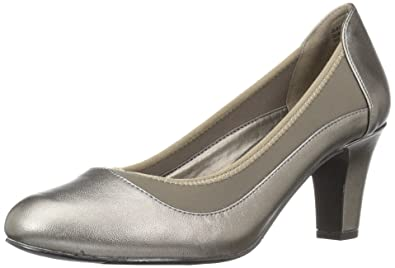 fb8608796f1 Easy Street Women s Jordan Dress Pump Pewter 5 ...