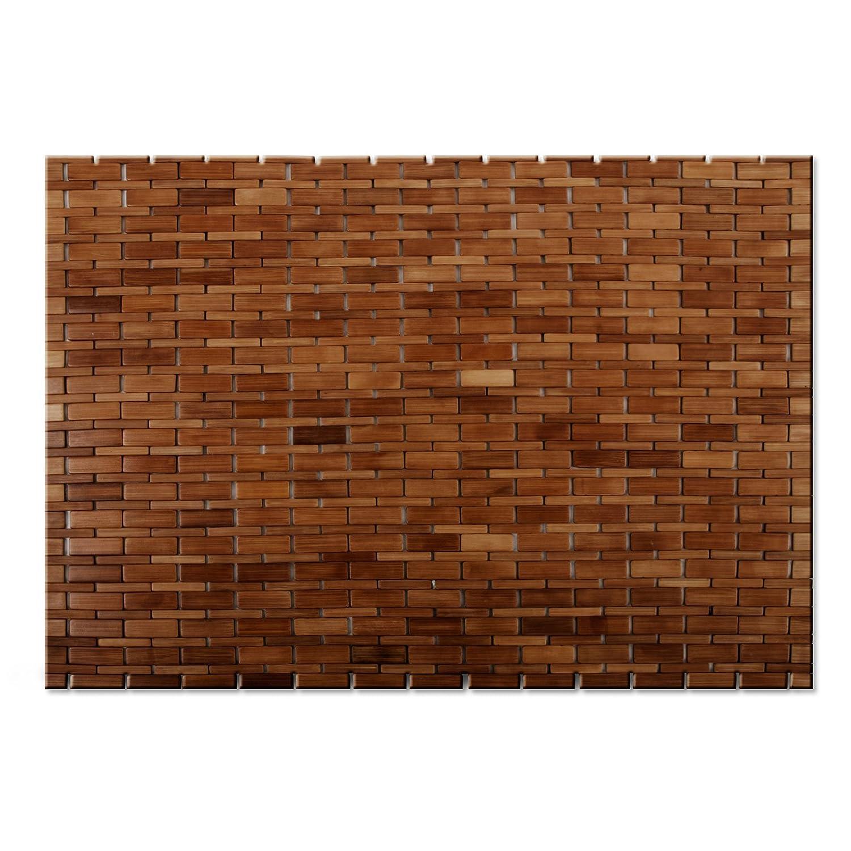 mosa bath mat bamboo products natural home shower