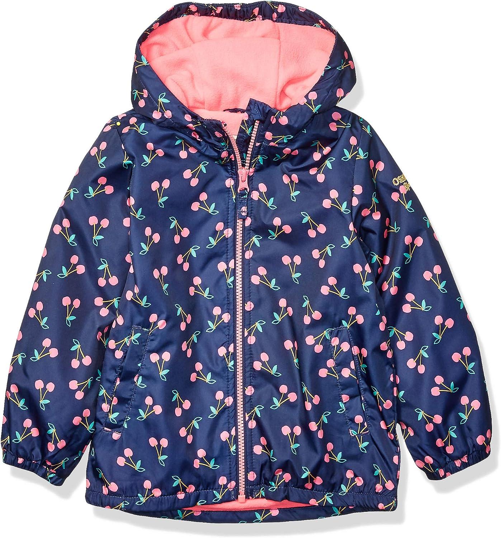 OshKosh BGosh Baby Girls Lightweight Jersey Lined Windbreaker Jacket