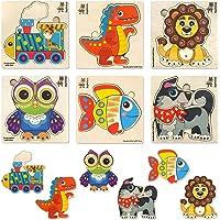 Quokka Puzzles de Madera de Animales Niños 1 2 3 4 Años - Juguetes Bebes Montessori 3 años - Educativos Rompecabezas…