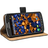 mumbi Case in Book Style for Samsung Active Galaxy S4 Leather Black