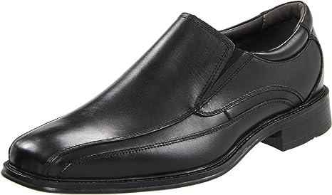 Dockers Franchise Hombre Negro Piel Mocasines Zapatos Talla EU 42 ...