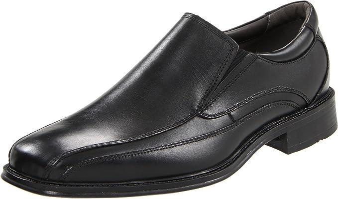 Dockers Franchise Hombre Negro Piel Mocasines Zapatos Talla EU 42: Amazon.es: Ropa y accesorios