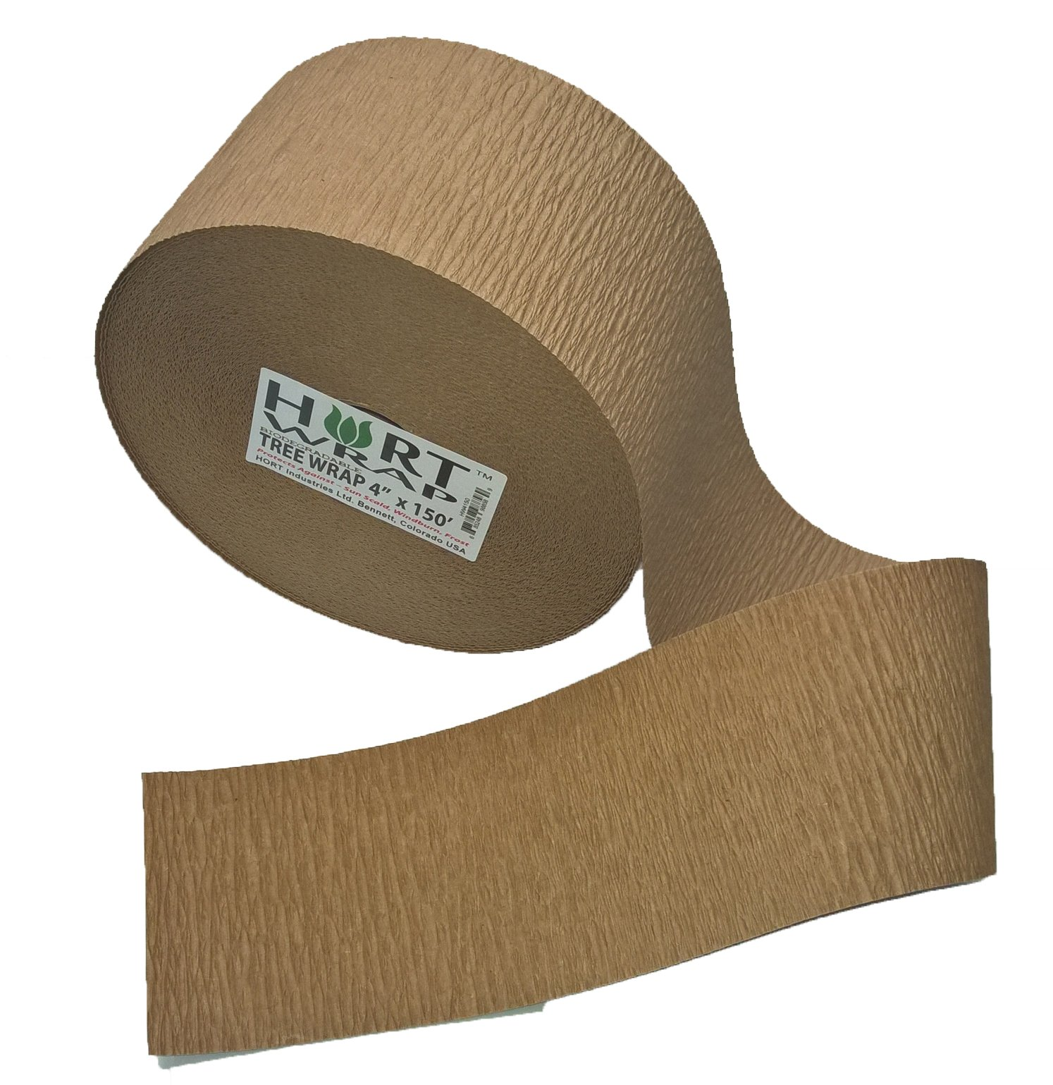 HORT Paper Tree Wrap 4'' x 150' roll, Commercial Grade by HORT
