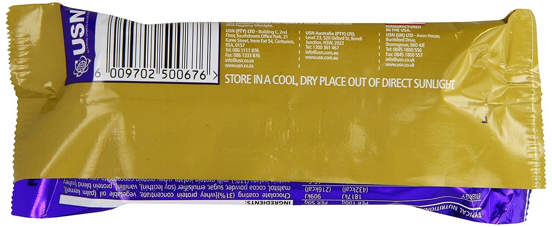 USN Protein Delite Bar Toffee Almond - 18 Barras: Amazon.es: Salud y cuidado personal