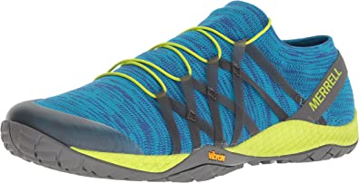 Merrell - Trail Glove 4 Knit Hombres , Azul (sodalite), 7 D(M) US: Amazon.es: Zapatos y complementos