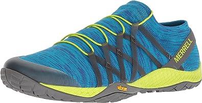 Merrell - Trail Glove 4 Knit Hombres , Azul (sodalite), 11.5 D(M) US: Amazon.es: Zapatos y complementos