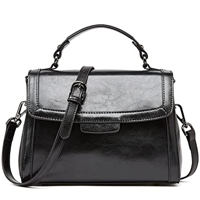 60d178b82cc6 BOYATU Real Leather Handbag for Women Top Handle Bag Ladies Shoulder Purse  Bag  Handbags  Amazon.com