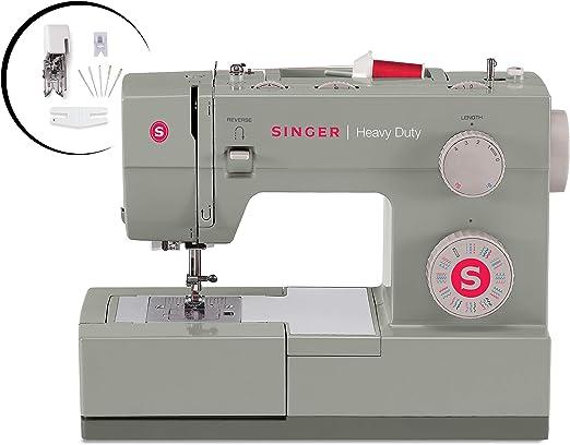 Singer 4452 máquina de coser resistente con accesorios, 32 puntos ...