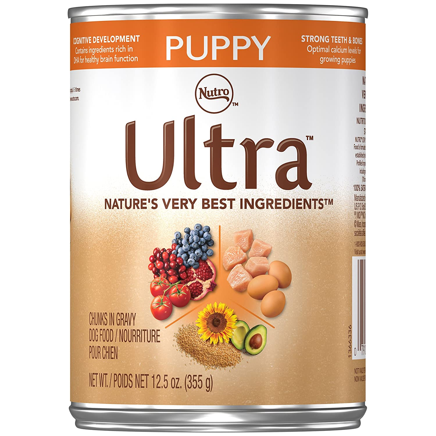 Nutro Ultra Puppy Canned Puppy Food, 12.5 oz.