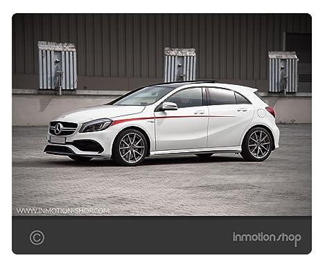Belt Line F. De Mercedes AMG a 45 A de clase W176 Sport rayas Stripes