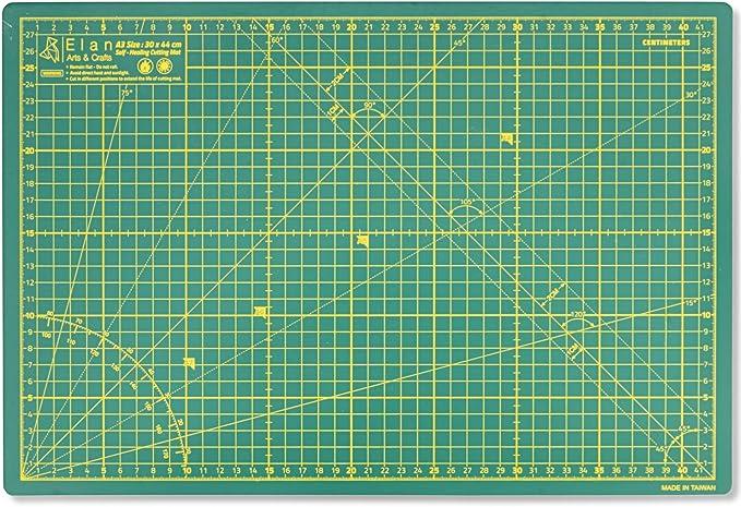 Tophobby Formato A3 Tappetino da Taglio Trasparente