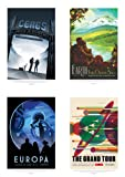 Amazon Price History for:NASA POSTER SPACE GRAND TOUR TRAVEL ADVERT PACK x 8 POSTERS ART PRINTS HP3844