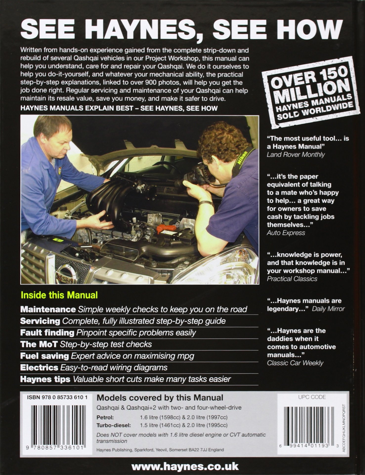 Nissan Qashqai Petrol Diesel 07 13 56 To Peter T Gill Wiring Diagram 9780857336101 Books