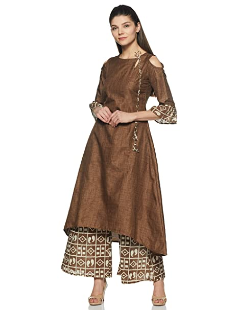 better price for variety of designs and colors fashionablestyle Gerua Women's A Line Salwar Suit Set