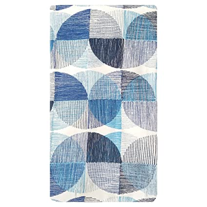 Project 62 Printed Blue White Shower Curtain 100 Cotton