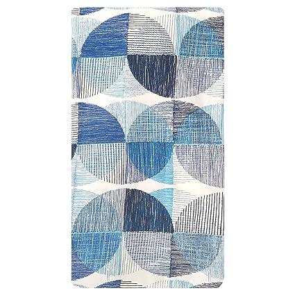 Amazon Project 62 Blue Grey Geometric Shower Curtain 720