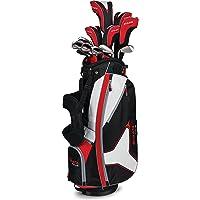 Callaway Strata Tour Set Completo de Golf, DR, 3W, 5W, 4H, 5H, 6I, 7I, 8I, 9I, PW, SW, Putter, Bolsa, 5Fundas de Cabeza