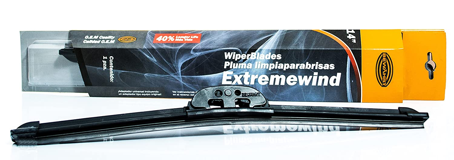Amazon.com: Extremewind Universal Wiper Blades - Graphite Coated Rubber - UV Coated - Metal connector for enhanced durability - Super Silent - New Style ...