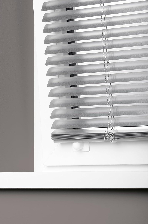 Amazon.de: Mydeco 80 X 240 Cm Aluminium Jalousie Edelstahl; Inkl.  Bedienstab, Deckenträger +