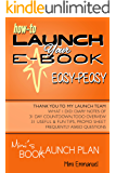 Mimi's Book Launch Plan: How to launch your ebook easy-peasy, with diary notes of 31-day count-down and to-do overview (English Edition)