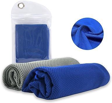 Amazon.com: TeaMaX toalla de enfriamiento, toalla fresca ...