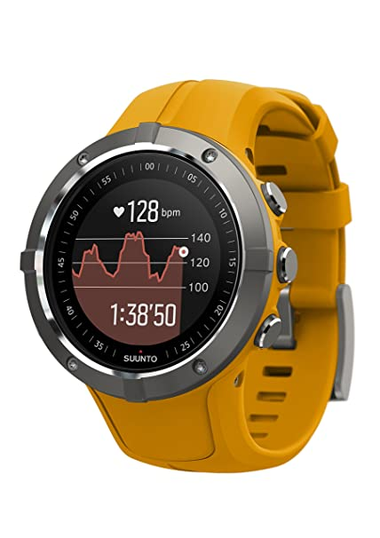 Suunto Spartan Trainer Wrist HR Multisport GPS Watch (Amber)